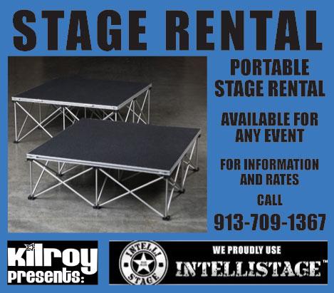 Stage Rental 913-709-1367